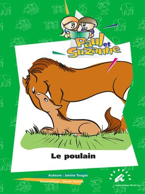 cover image of Le poulain