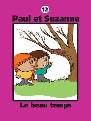 cover image of Le beau temps