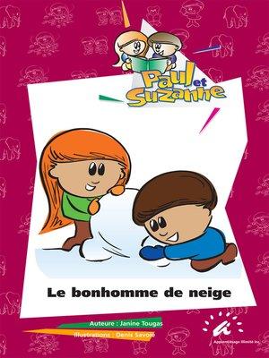 cover image of Le bonhomme de neige