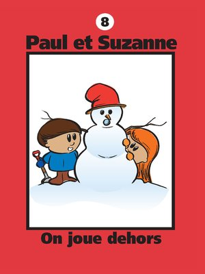 cover image of On joue dehors