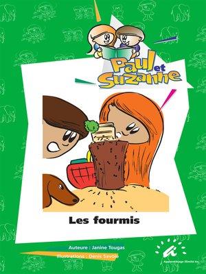 cover image of Les fourmis