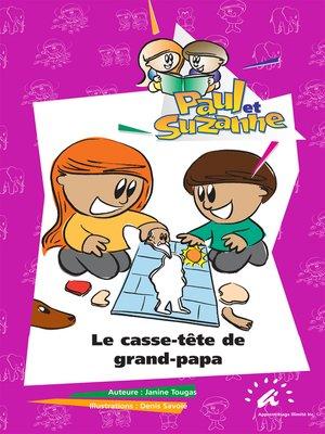 cover image of Le casse-tête de grand-papa