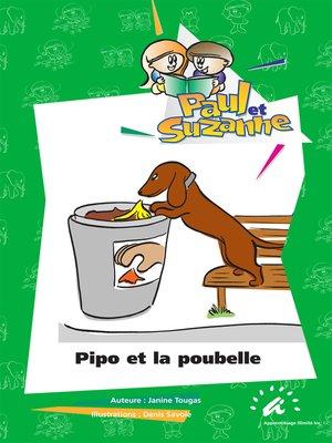 cover image of Pipo et la poubelle