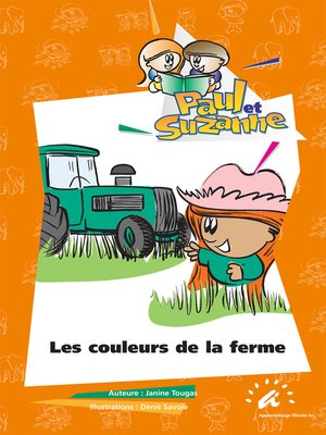 cover image of Les couleurs de la ferme