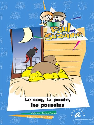 cover image of Le coq, la poule, les poussins