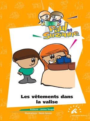 cover image of Les vêtements dans la valise