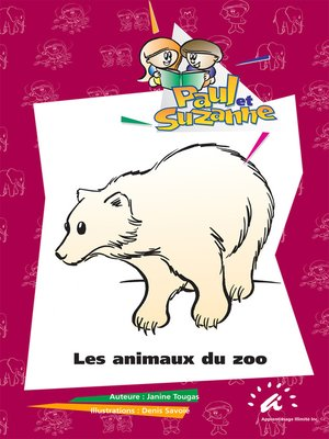 cover image of Les animaux du zoo