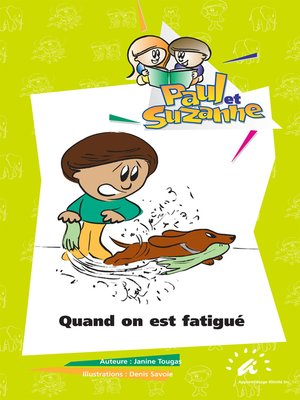 cover image of Quand on est fatigué