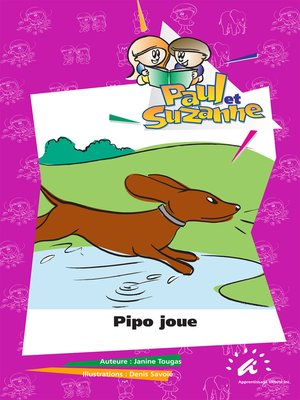 cover image of Pipo joue