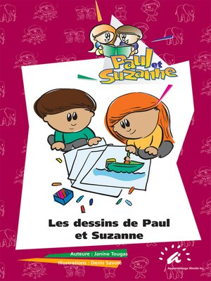 cover image of Les dessins de Paul et Suzanne