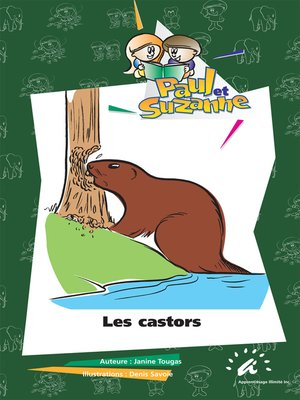 cover image of Les castors