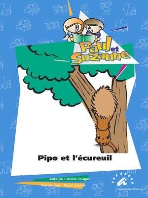 cover image of Pipo et l'écureuil