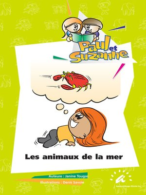 cover image of Les animaux de la mer