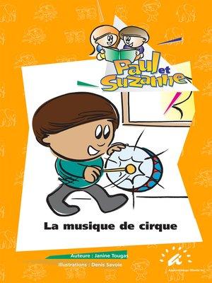 cover image of La musique de cirque