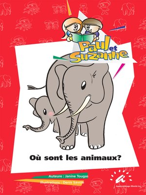 cover image of Où sont les animaux?