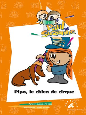 cover image of Pipo, le chien de cirque