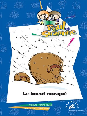 cover image of Le boeuf musqué