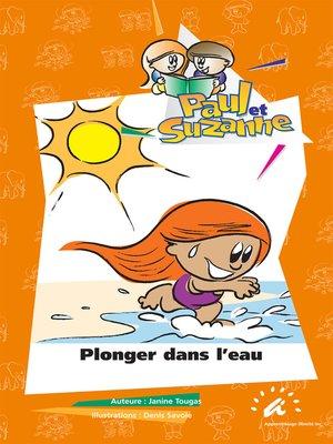 cover image of Plonger dans l'eau