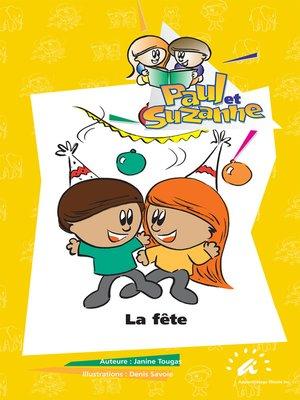 cover image of La fête