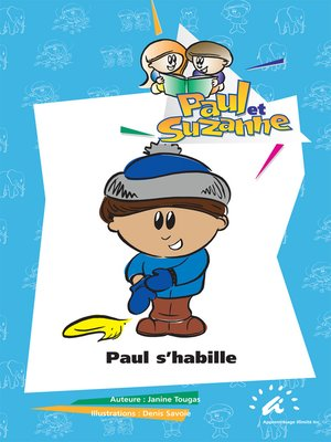 cover image of Paul s'habille