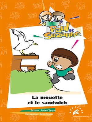cover image of La mouette et le sandwich