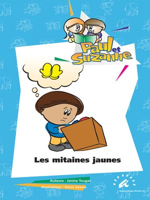 cover image of Les mitaines jaunes