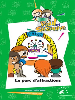 cover image of Le parc d'attractions