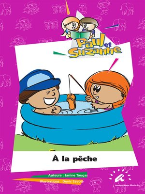 cover image of À la pêche