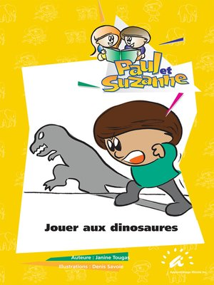 cover image of Jouer aux dinosaures