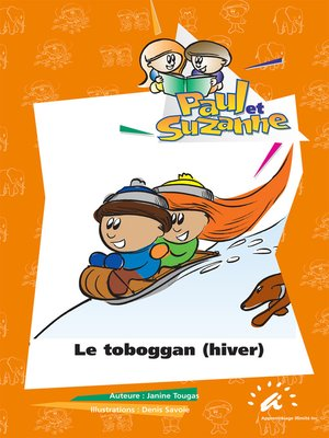 cover image of Le toboggan (hiver)