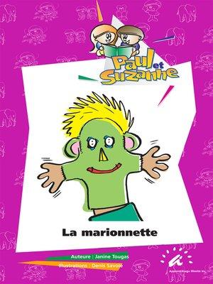 cover image of La marionnette