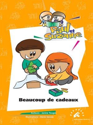 cover image of Beaucoup de cadeaux