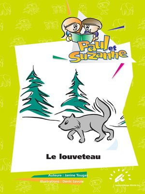 cover image of Le louveteau