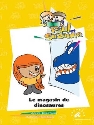 cover image of Le magasin de dinosaures