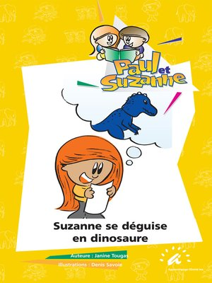 cover image of Suzanne se déguise en dinosaure