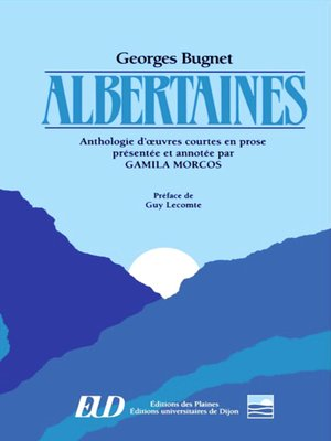 cover image of Albertaines