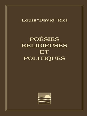 cover image of Louis Riel