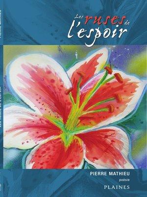 cover image of Les ruses de l'espoir