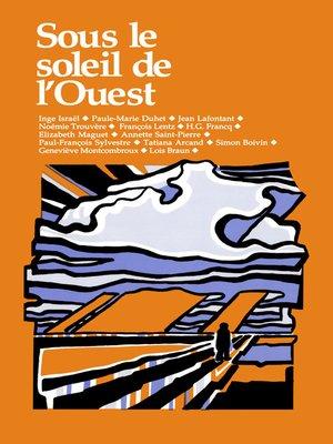 cover image of Sous le soleil de l'ouest