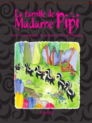cover image of La famille de Madame Pipi