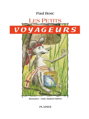 cover image of Les petits voyageurs
