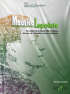 cover image of Maurice Lapointe