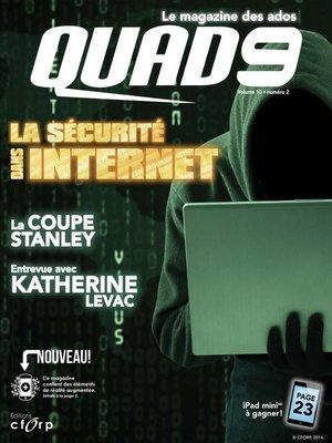 cover image of La sécurité dans Internet