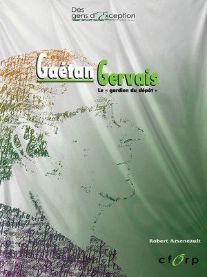 cover image of Gaétan Gervais
