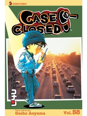 cover image of Case Closed, Volume 58