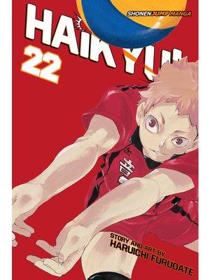 cover image of Haikyu!!, Volume 22