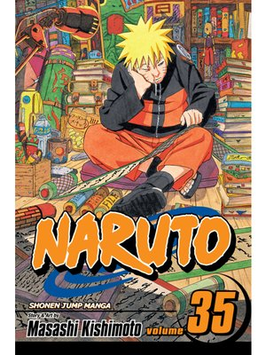 cover image of Naruto, Volume 35