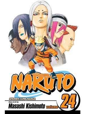 cover image of Naruto, Volume 24