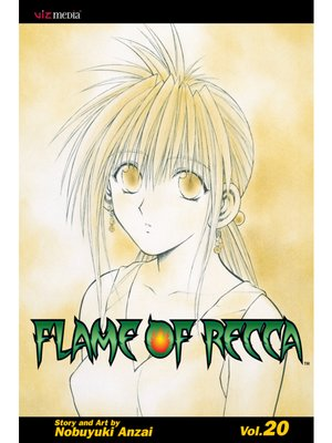cover image of Flame of Recca, Volume 20