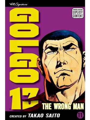 cover image of Golgo 13, Volume 11